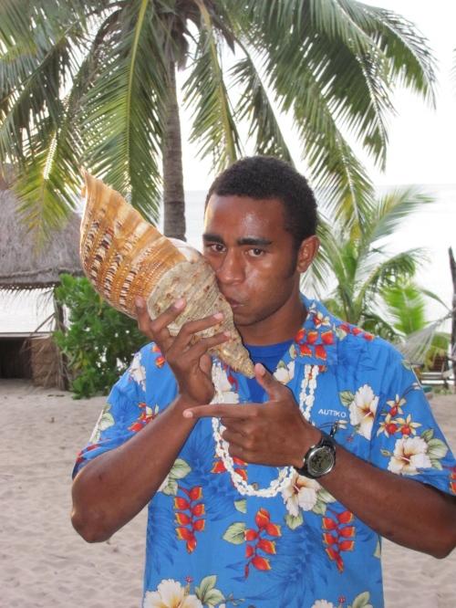 seashell fiji