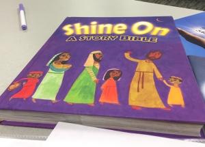 shine on bible story book