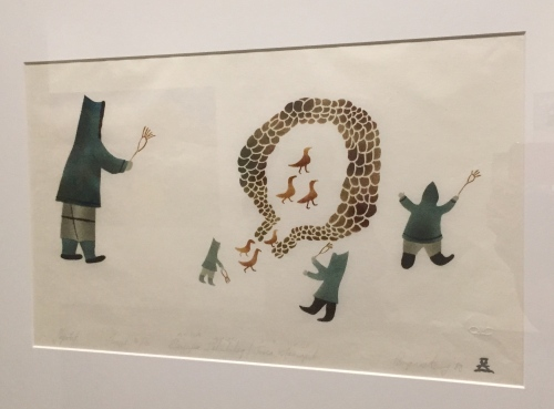 elisapee ishulutaq mural winnipeg art gallery