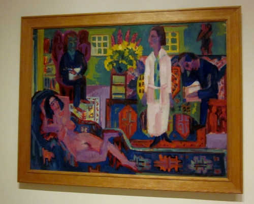 Modern Bohemia- Ernst Ludwig Kirchner- 1924- Collection of the Minneapolis Art Institute