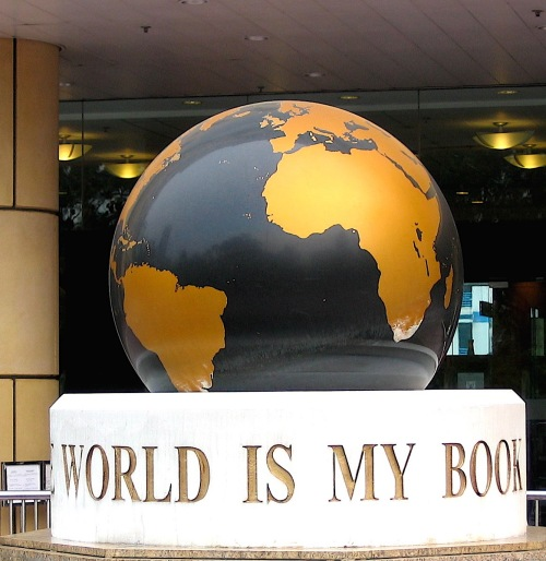 world is my book hong kong
