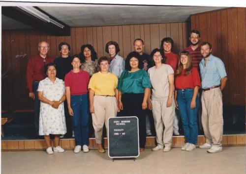 hopi mission staff