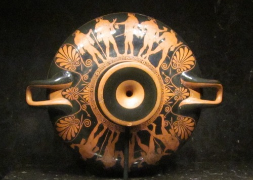Kylix red figure vase Nelson Aitkins Museum of Art