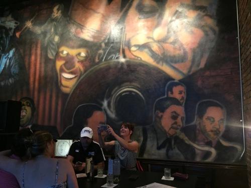 mural inside the phoenix