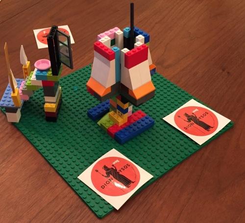 dionysus in lego
