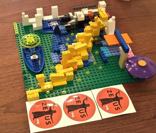 zeus with Lego