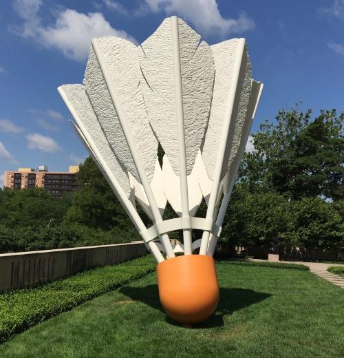 badminton shuttlecock nelson atkins museum kansas city