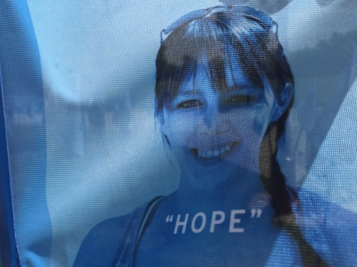 face of hope flag
