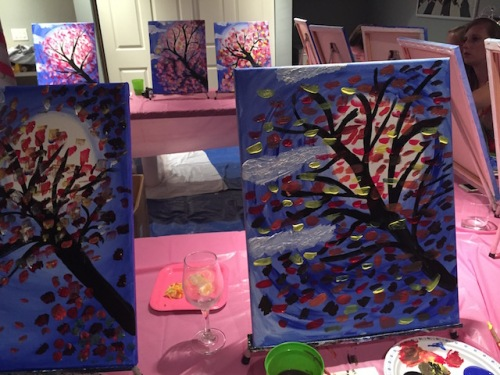 finished trees