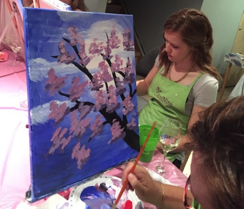 fun paint nite
