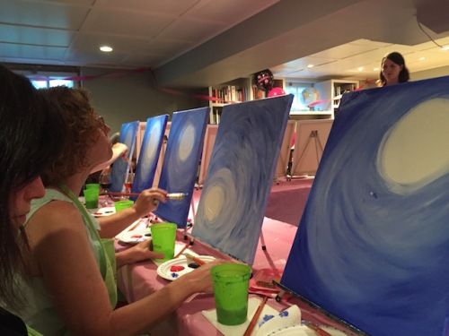 getting our masterpieces started