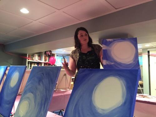 paint nite teacher