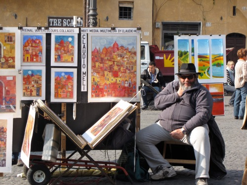 Artist in Rome