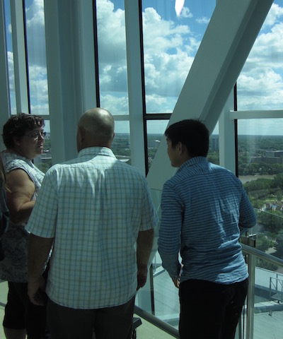 chatting at the top of hrm winnipeg