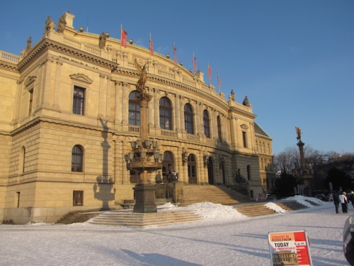 rudolfinium in prague