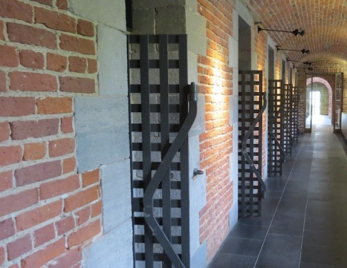 art gallery in old prison quebec city