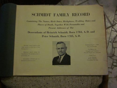 descendants of heinrich schmidt