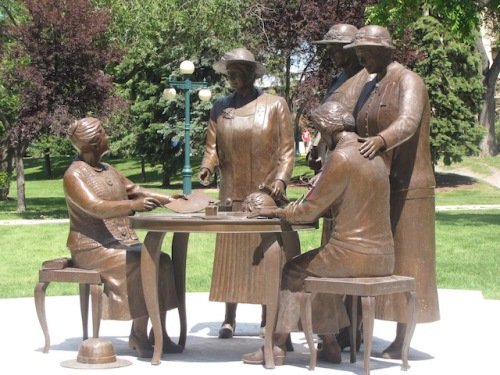 The famous five women who fought to have women recognized as persons in Canada