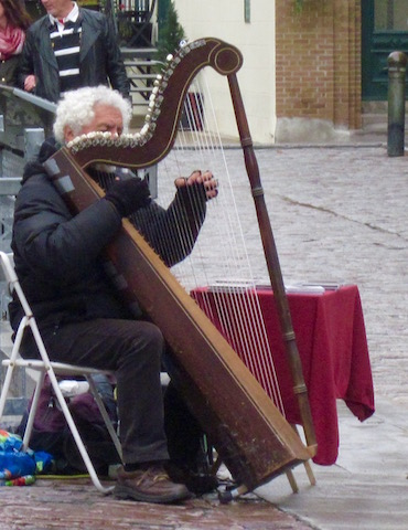 harpist quebec city