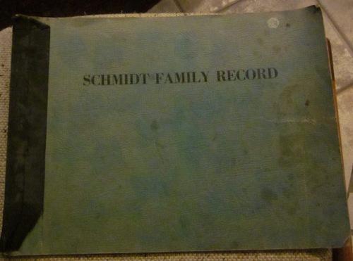 schmidt family record