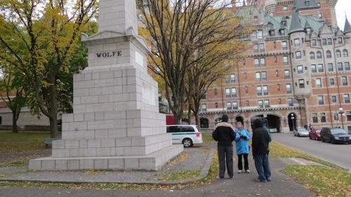 wolfe montcalm memorial quebec city