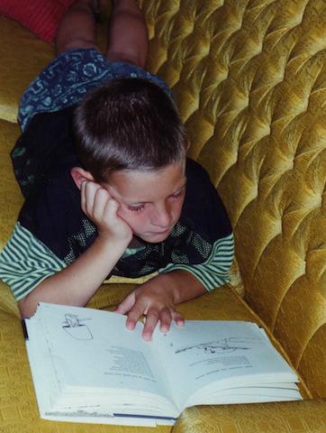 boy-reading-shel-silverstein