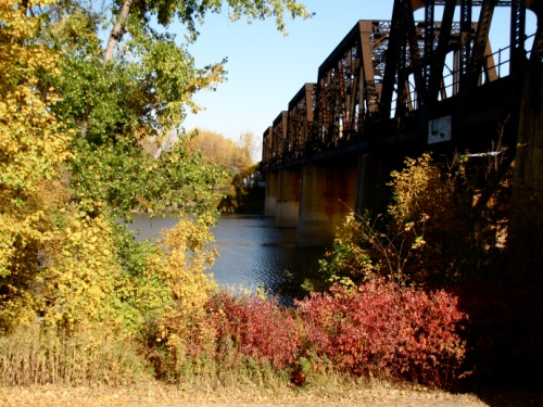 Railroad Bridge at the end of McDermott Street