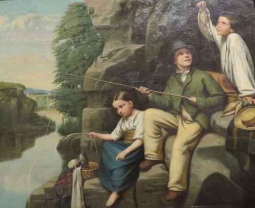 the-little-anglers-by-napoleon-bourassa