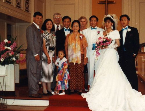 mom and dad cambodian refugees