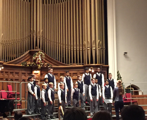 boys choir christmas