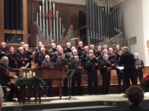 christmas faith and life male choir