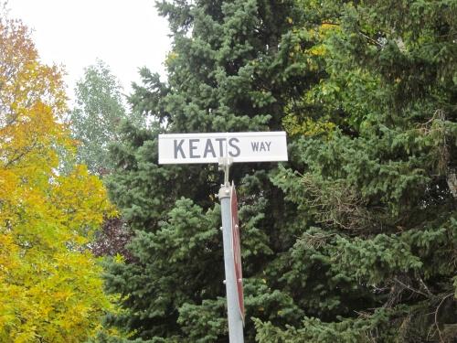 keats way street in winnipeg