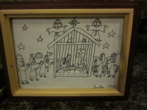 nativity scene by jennifer martens