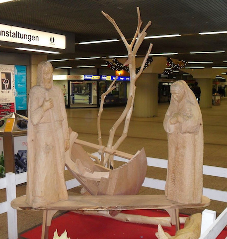 nativity scene frankfurt