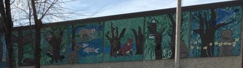 school front art