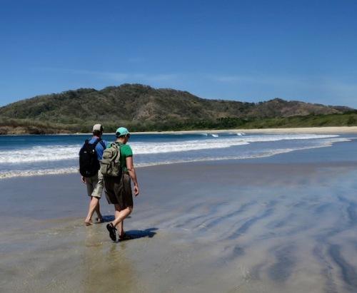 beach-hike