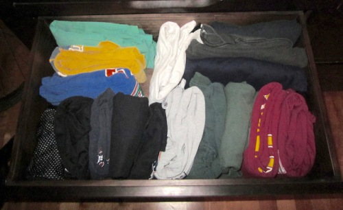 drawer organized kondo style