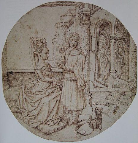 joseph-and-asenath-by-hugo-van-der-goes-public-domain