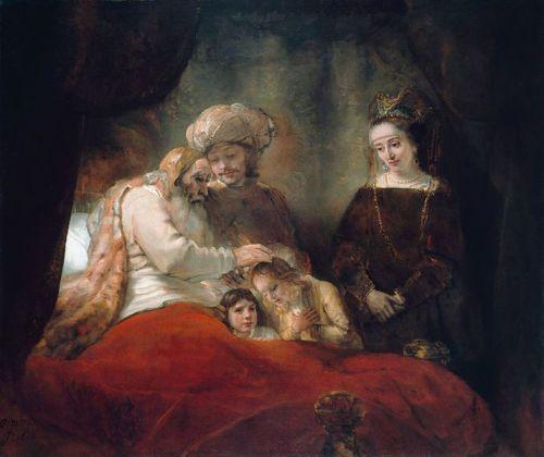 rembrandt-blessing-jospehs-children-public-domain