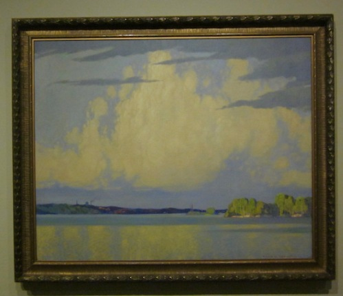 serenity-lake-of-the-woods-1922-frank-johnston