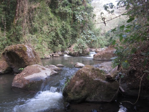 hike to waterfall san gerardo