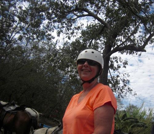 marylou on horse