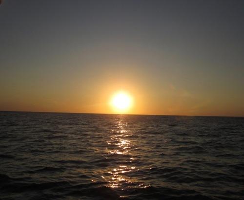 sunset anteres cruise