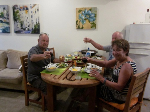 Super Bowl chili supper Green Village Tamarindo