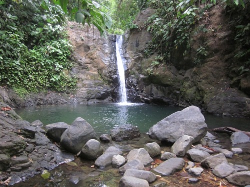 waterfall uvita