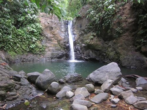 waterfall uvita