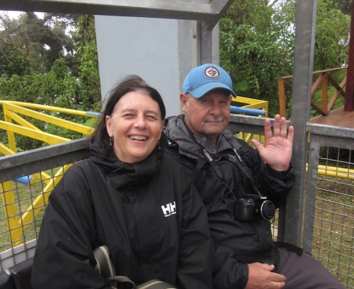 in the tram cloud forest