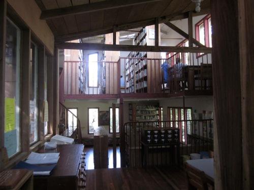 inside library monteverde