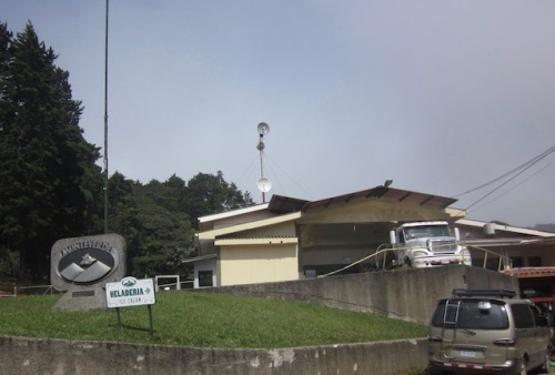 Monteverde Cheese Factory founded by the Quakers. We stopped there to buy cheese and icecream.