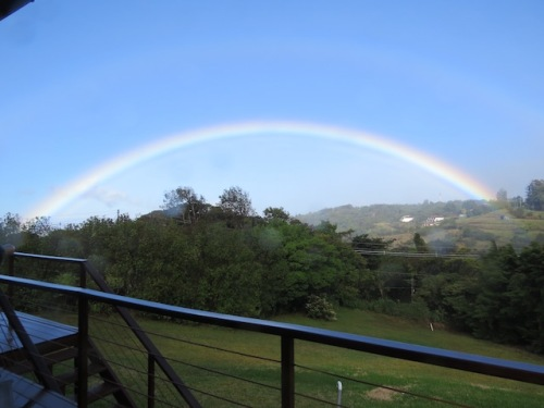rainbow arc costa rica